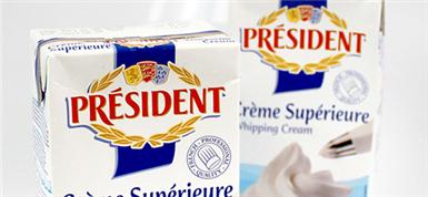 「法国总统牌PRESIDENT」:优质奶油,蛋糕之本
