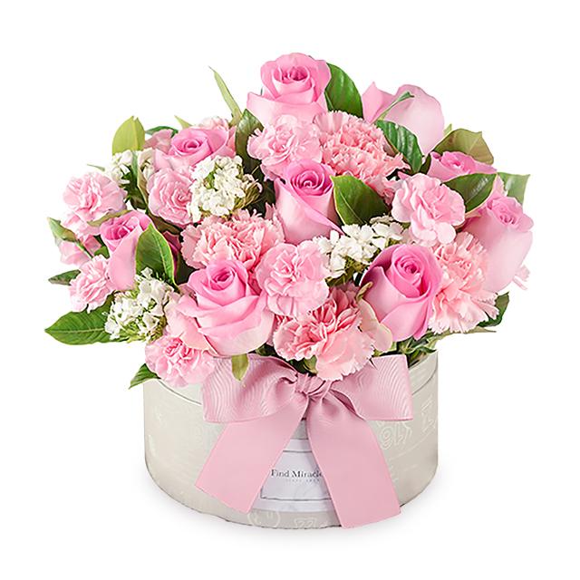 芙洛拉的爱 中花盒